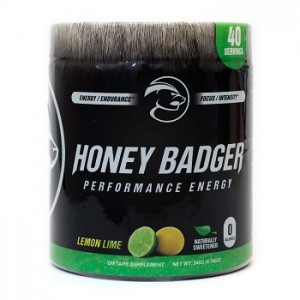 Honey Badger Performance Energy - 40 Servings - Lemon Lime